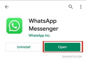Whatsapp को चालू कैसे करें